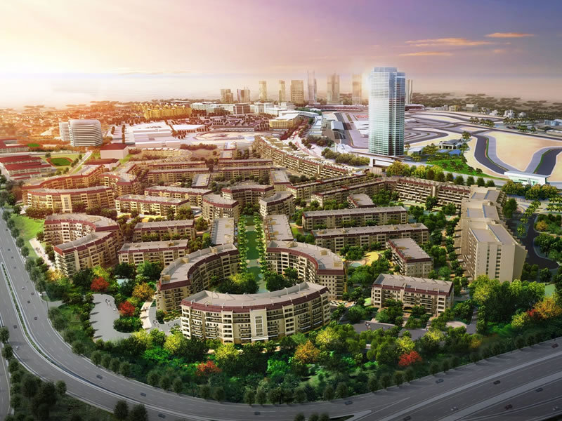 Union properties signs agreement with cscec for us 2 bn for Motor city casino parking