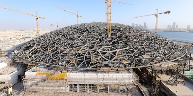 Opening of abu dhabi 39 s branch of the louvre museum ventures onsite - Date construction du louvre ...