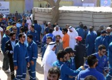 More than 200 Asian workers go on strike in Kuwait