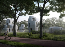 Eindhoven (South Netherlands) to construct houses composed of 3D printed concrete