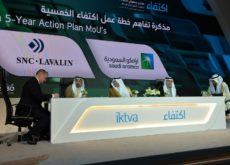SNC-Lavalin and Saudi Aramco sign MoU supporting in-country opportunities