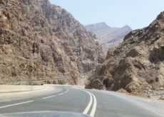 Road work to UAE's tallest peak at RAK nears completion