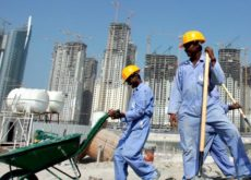 New innovative product in Qatar to increase construction labourers' safety