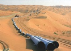 Construction of new crude oil pipelines between Bahrain and Saudi Arabia on track for completion by end of 2017