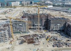 Yas Bay, Abu Dhabi's ultimate waterfront experience rises to new heights as construction milestones reached