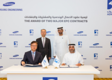 Adnoc awarded two contracts to Samsung Engineering worth US$ 3.5 bn