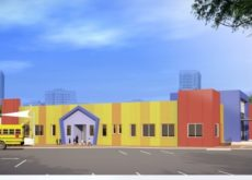 Dubai Investments installs first-of-its-kind set of coloured panels for kindergarten building