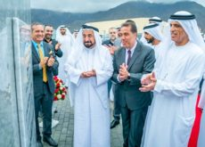 Foundation stone laid for AASTMT in Khor Fakkan