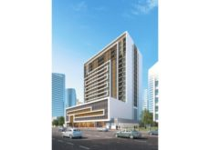 New residential tower at Al Barsha 1 by DIRC 25% complete