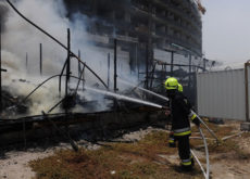 Fire breaks out at UAE's Aldar and Arabtec construction site