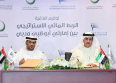 Dewa and Adwea sign MoU for strategic water connections