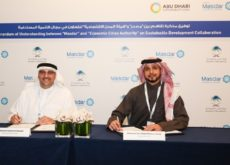ECA signs agreement with Masdar on progress of the Saudi Economic Cities initiative