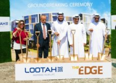 """Lootah breaks ground on its upcoming residential building """"The Edge"""""""