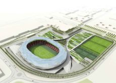Qatar unveils design for fifth stadium : Qatar Foundation Stadium and Health & Wellness Project for FIFA 2022