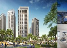 Work at Emaar Properties' residential project in Dubai Creek Harbour on track