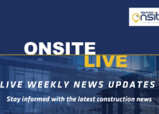 Onsite Live Weekly Construction News Update - 1/03/2020