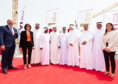 His Excellency Sheikh Nahyan bin Mubarak Al Nahyan witnesses Reem Mall Foundation Stone Laying Ceremony