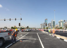 Qatar's Ashghal starts work on new intersection at Corniche Street