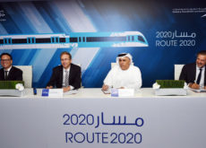 Alstom-led consortium signs contract with RTA to build red metro line extension