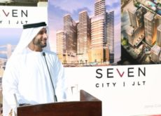 Seven Tides breaks ground on SE7EN City JLT