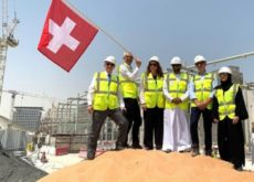Swiss government breaks ground on its country pavilion