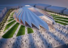 Ground-breaking ceremony of UAE pavilion held on 17th December