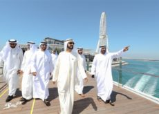 Ruler of Dubai visits the Yard project