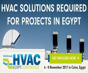 3rd Annual HVAC-R & District Cooling Egypt Conference