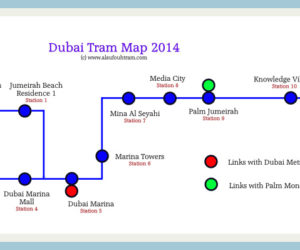 The Dubai Tram - Fares, Routes and Expected Timings - Part III - What you would like to know before November 11, 2014