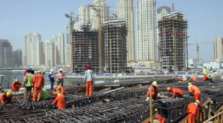 Contribution of Abu Dhabi's construction sector to FDI surged 5%