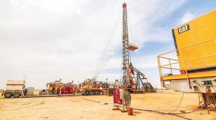 Foundation stone for integrated service oil station in Oman