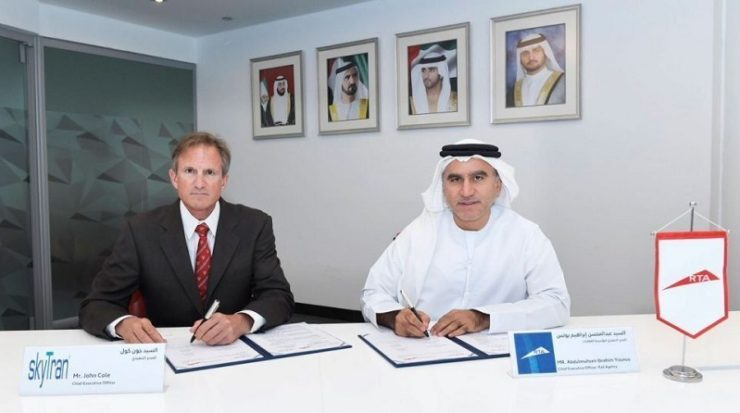 RTA, Skytran to develop suspended transport systems