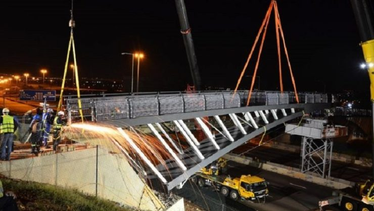 Construction of US$ 1.5 mn N1 highway pedestrian bridge in Pretoria to be completed soon