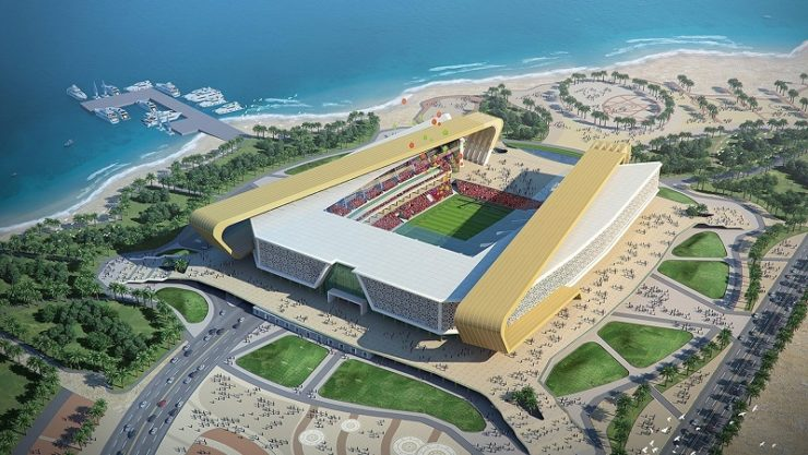 Unveils design of ras abu aboud stadium qatar unveils design of ras abu aboud stadium malvernweather Choice Image
