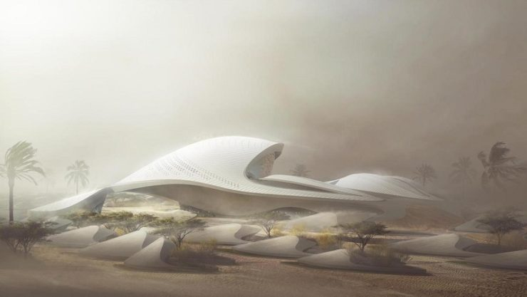 Bee'ah's new Zaha Hadid Architects-designed HQ in Sharjah to open by summer of 2019