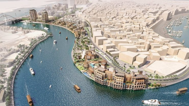 Phase 1 of Deira Enrichment Project takes shape