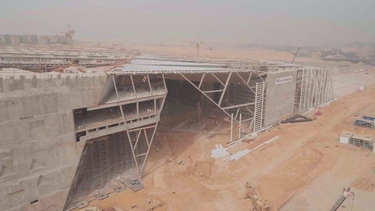 Work on 167,000sqm GEM progresses at steady pace