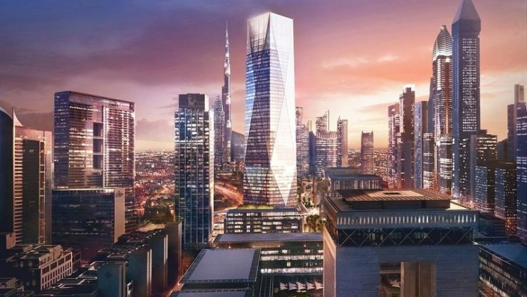 Dubai's ICD Brookfield Place tower construction update revealed