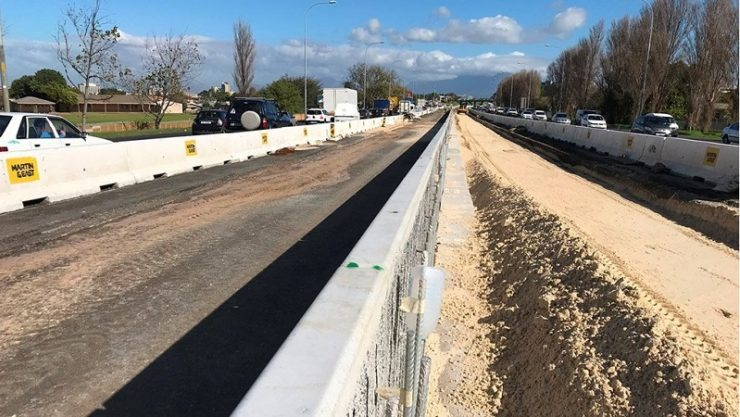 South Africa's N1/Old Oak Bridge upgrade project completed
