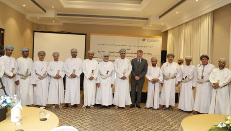 Pact signed by PDO for 10 community projects