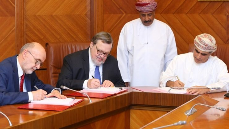 Omans Ministry Of Oil And Gas Signs Two New Epsa Worth Us 65 Mn