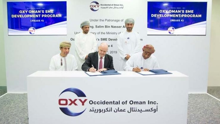 Four SMEs awarded contracts by Occidental Oman