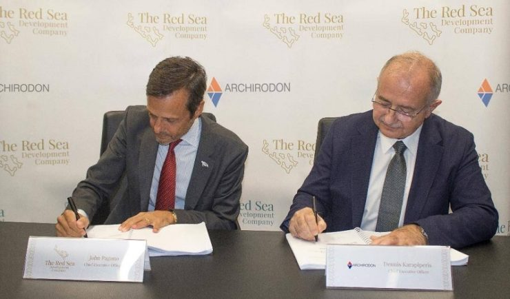 Red Sea Project's first major contract awarded to Archirodon