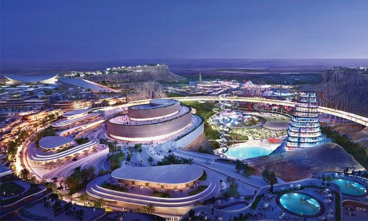 World's largest entertainment city set to open in 2030 in Saudi Arabia