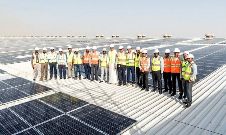 Landmark Group installs one of the largest single rooftop solar-powered system at its warehouse