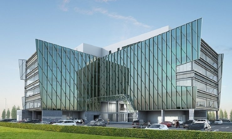 ADCI announces work on The V nears completion