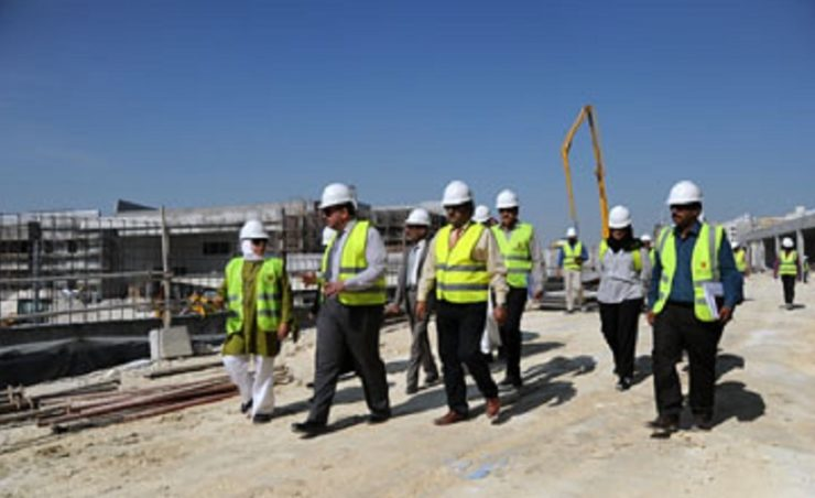Construction works on Bahrain's dialysis centre project now 63% complete