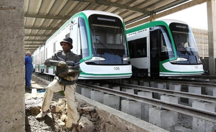 Egypt has agreed US$ 1.2 bn light rail system deal