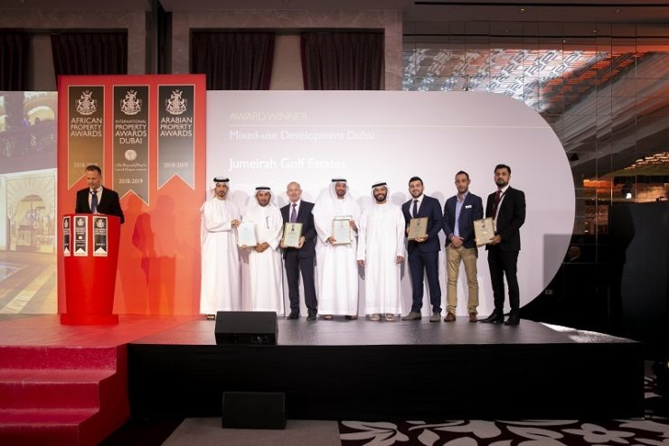 Jumeirah Golf Estates Named One Of The Top 100 Real Estate Companies In The  Middle East