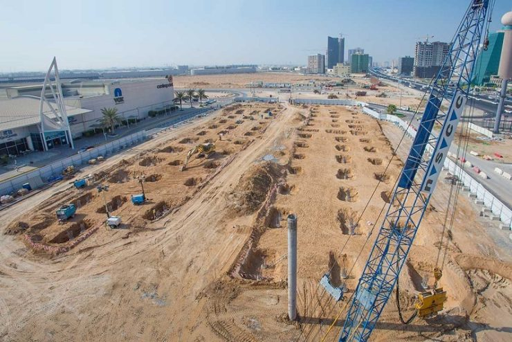 Work in full swing on Dilmunia Grand Canal & Marina project